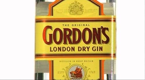 Gordon's Gin casing