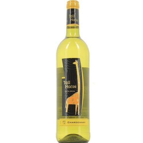 Tall Horse Chardonnay -A dazzling bright gold colour accompanies generous tropical fruit and vanilla oakaromas.