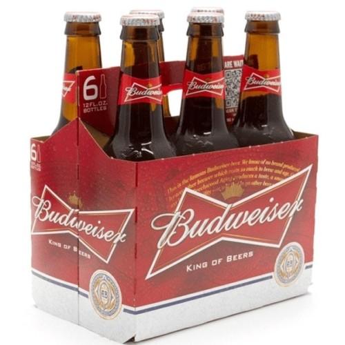 Budweiser Beer 6x355ml