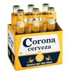 Corona Extra Beer 6x355ml