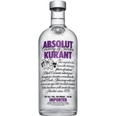 Absolut Kurant Vodka 750ml