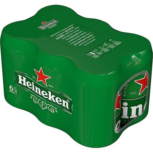 6x Heineken Can 330ml