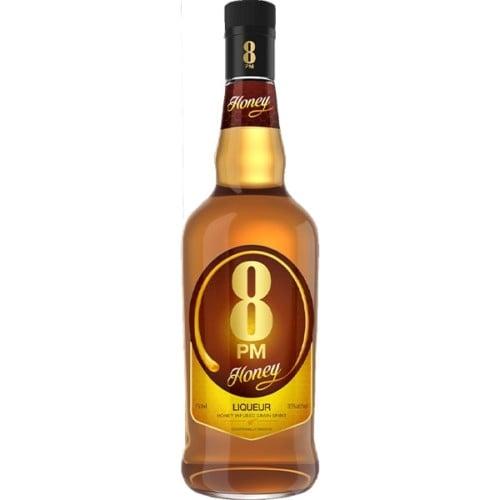 8PM Honey Liqueur 750ml - Exceptionally smooth whisky liqueur.