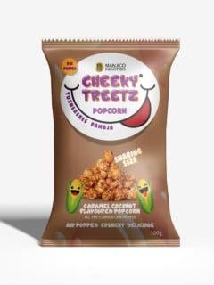 Cheeky Treetz Popcorn Caramel 40g