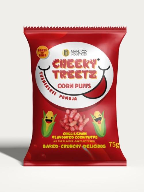 Cheeky Treetz Corn Puffs Tomato 25g