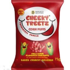 Cheeky Treetz Corn Puffs Tomato 75g