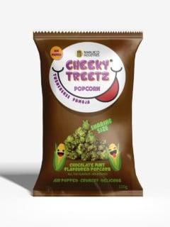Cheeky Treetz Popcorn Chocolate Mint 40g