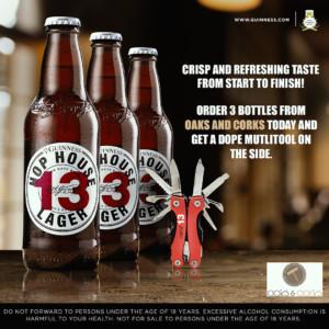 Buy 3 Bottles of Hop house 13 get 1 Multi tool kit Free!