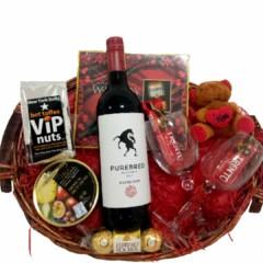 Purebred Red Valentines Gift Hamper