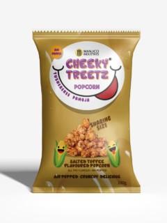 Cheeky Treetz Popcorn Salty Toffee 40g