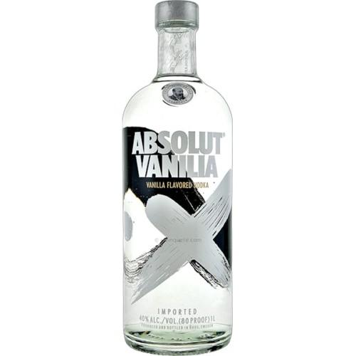 Absolut Vanilla 1L - Vanilla flavoured vodka from Sweden