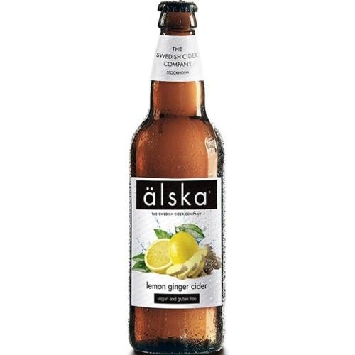 Älska Lemon Ginger Cider 500ml