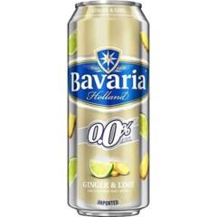 Bavaria 0.0% Ginger & Lime 500ml