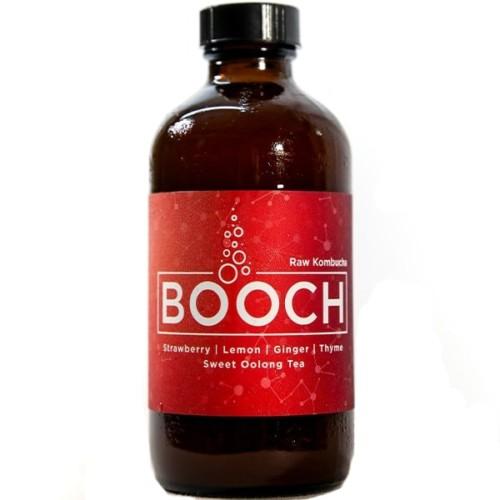 Booch - Strawberry | Lemon | Ginger | Thyme | Sweet Oolong Tea - Kombucha