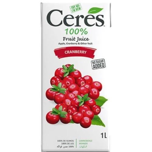Cerés Cranberry Juice 1L