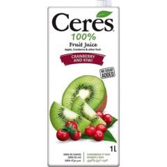Ceres Cranberry & Kiwi 1L