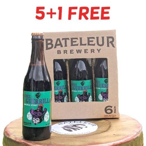 Buy 5, get 1 Free - Chez Guerilla 330ml