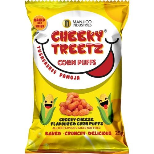 Cheeky Treetz Corn Puffs Cheeky Cheese 25g