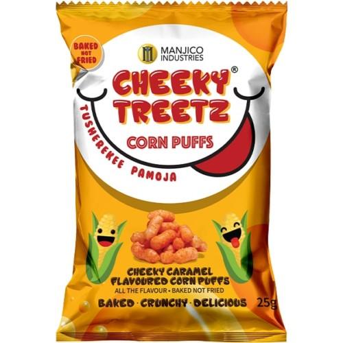 Cheeky Treetz Corn Puffs Caramel 25g
