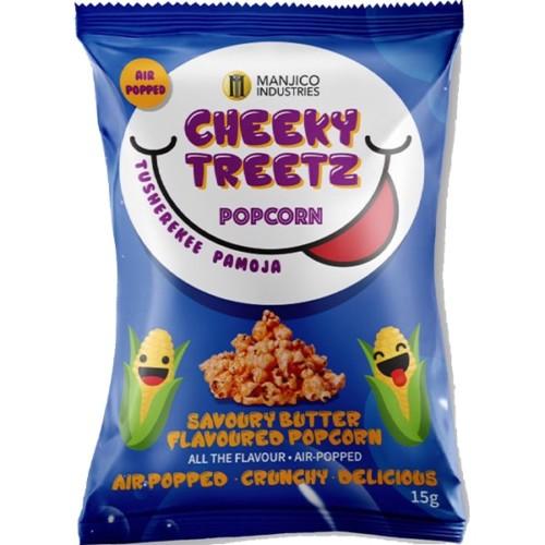 Cheeky Treetz Popcorn Savoury Butter 15g