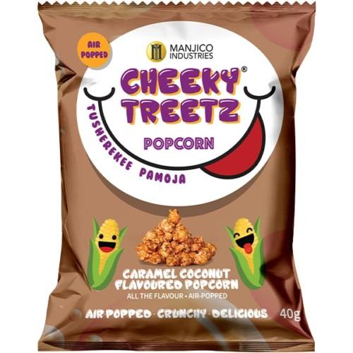 Cheeky Treetz Popcorn Caramel Coconut 40g