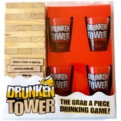 Drunken Tower - The Grab a Piece Drinking Game!