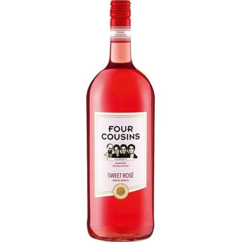 Four Cousins Natural Sweet Rosé Wine 75cl