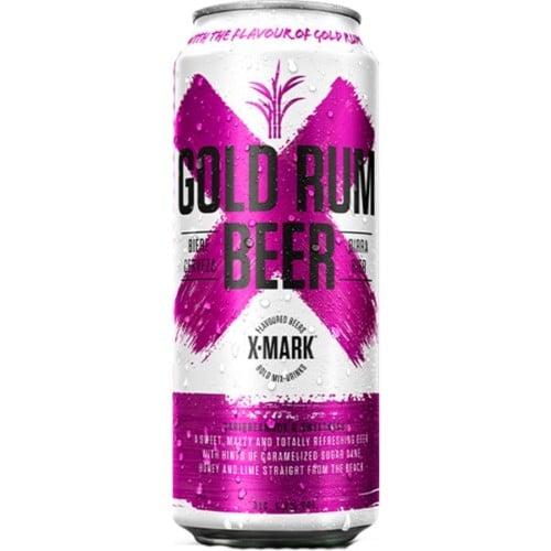 X-Mark Gold Rum Beer 500ml