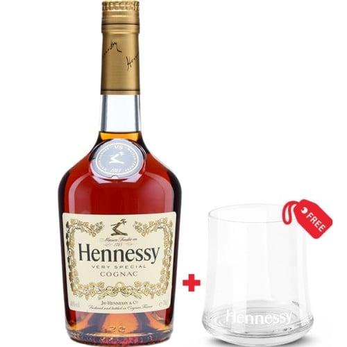 Hennessy V.S. 70cl + Free Glass