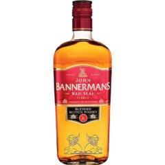 John Bannermans Red Seal 75cl