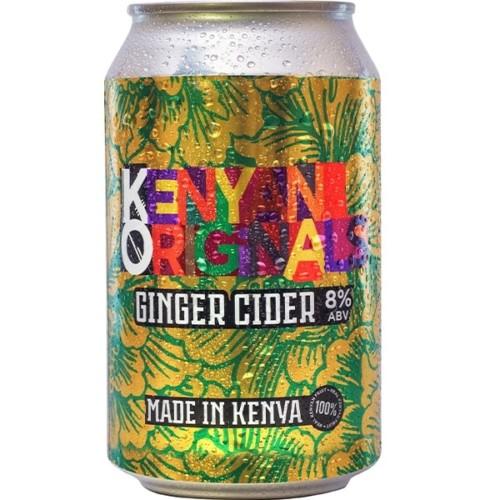 KO Ginger Cider 330ml