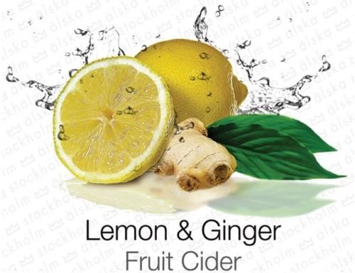 lemon ginger cider