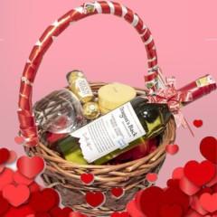 Basket of Love Valentine Gift