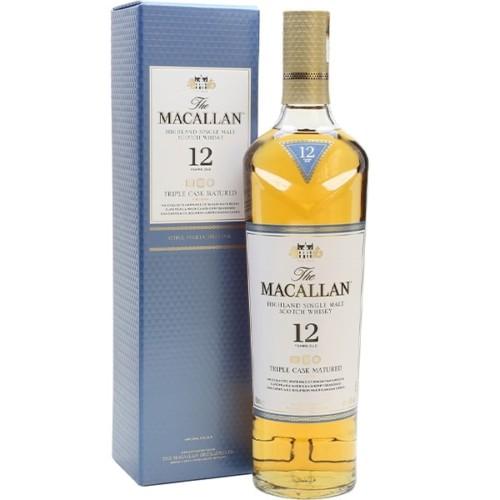 The Macallan 12 Year Old 700ml - Vibrant. Orange. Chocolate.