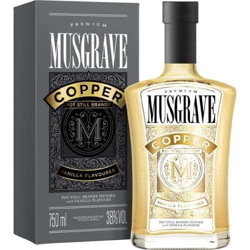 Musgrave Copper Brandy Vanilla 750ml