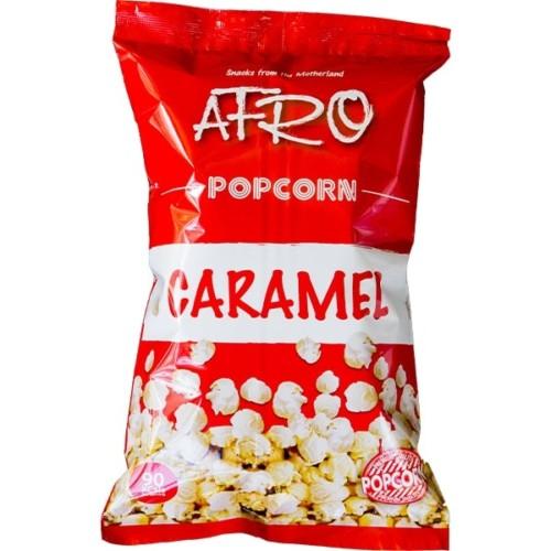 Afro Popcorn Caramel 65g