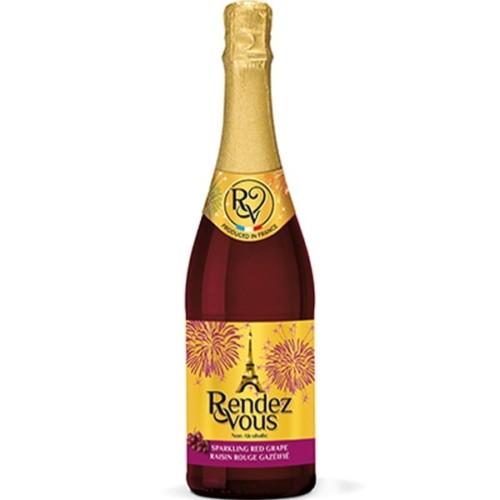 Rendez Vous Red Grape - Non-Alcoholic Sparkling Red Grape Juice