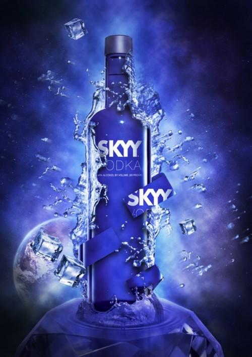 Skyy Vodka Vodka 750ml