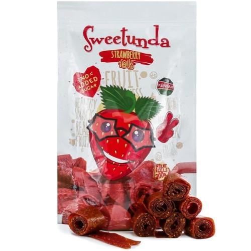 Sweetunda Strawberry Rolls 200g