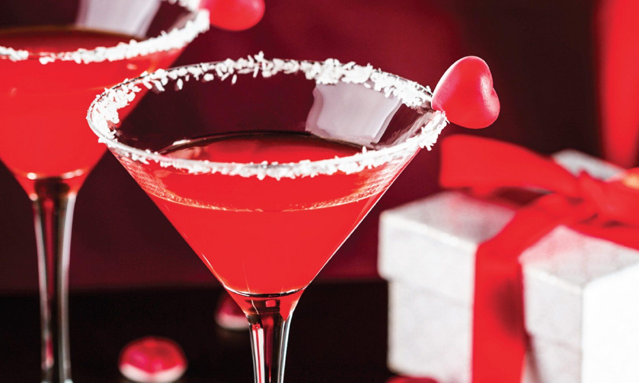 valentine's cocktails recipes