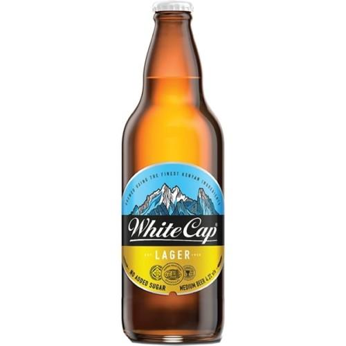White Cap Bottle 500ml